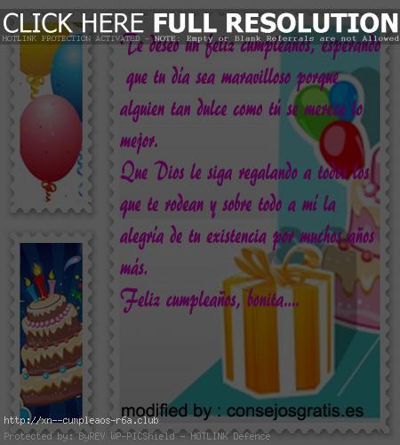 Frases de la vida con dedicatorias de feliz cumpleaños