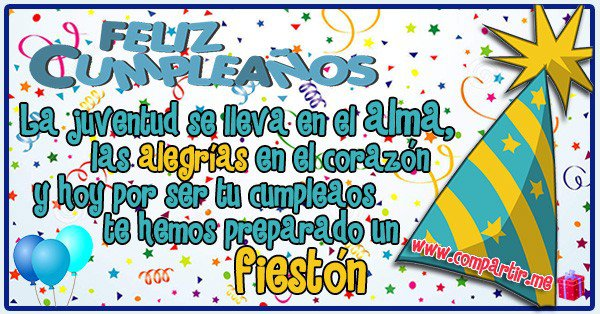 Las mas lindas palabras y saludos de feliz cumpleaños para dedicar