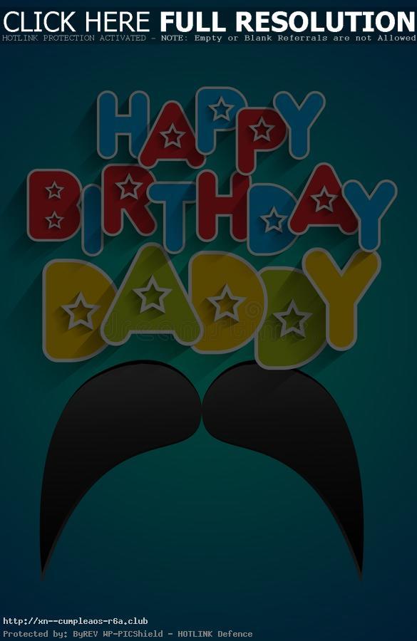 Feliz Cumpleaños querido PAPA