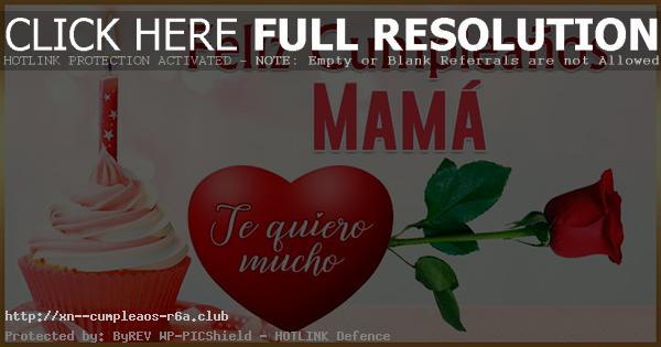 Tarjetitas especiales de cumpleaños para mama en el cielo